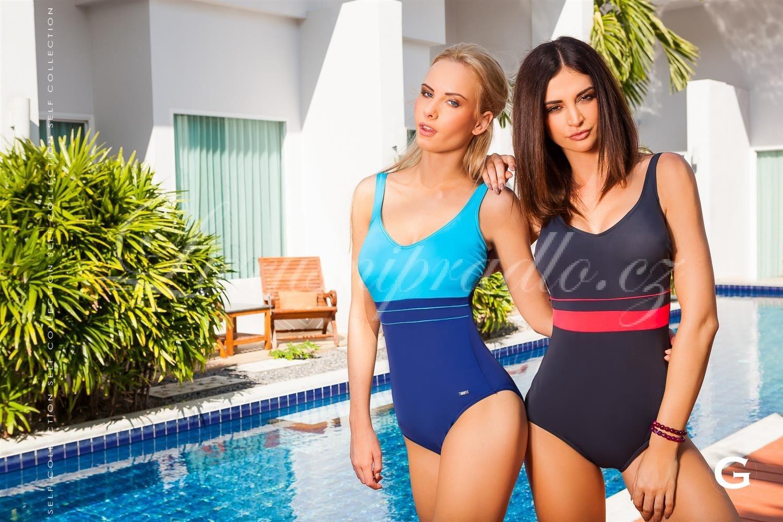 dámské luxusní jednodílné plavky